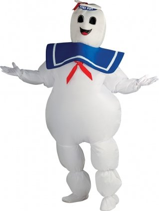 Ghostbusters Kostüm Marshmallow Man - (Man Ghostbusters Marshmallow Kostüme)