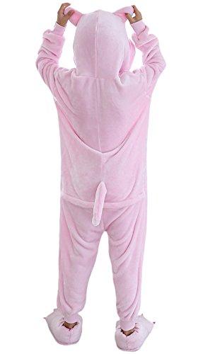 Imagen de dato niños ropa de dormir pijama cosplay disfraz cerdo rosa animal unisexo alternativa