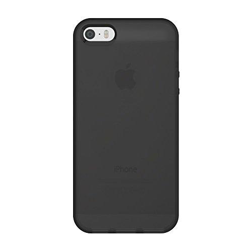 Incipio NGP Schutzhülle für Apple iPhone SE / 5S / 5 in schwarz/transparent [Stoßfest | Reißfest Flexibel] - IPH-1439-TBK