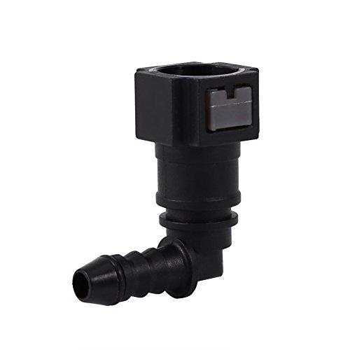 Kraftstoffleitung (Steckerkupplung Für Kraftstoffschlauch Auto&Motorrad Kraftstoffleitung Anschluss Schnellkupplung ( Size : 7.89mm elbow ))