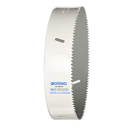 Krino HSS-Bimetall-Lochsäge mit variabler Zahnung, Farbe: Grau, 200 mm, 2106020000