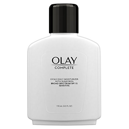 Olay Complete All Day Moisture Lotion UV Defense SPF 15, Sensitive Skin, 4 fl oz (118 ml) (2 pack)...