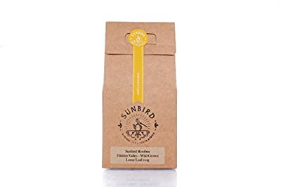 Sunbird Rooibos Hidden Valley Rooibos Sauvage - Nature - Vrac Feuilles entières - Wild Grown - Riche en antioxydants - Sans caféine - Relaxant - Détoxifiant - Healthy Tea - Sachet 100 g