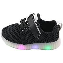 Feicuan Unisex Kids LED Intermitente Zapatos con Luces Deportivos de la Zapatillas de Deporte