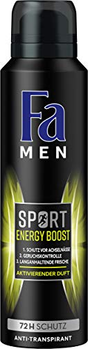 Fa Men Sport Energy Boost Deospray, 6er Pack (6 x 150 ml)