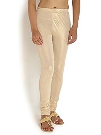 Kamaira Leggings Cream Shimmer Legging