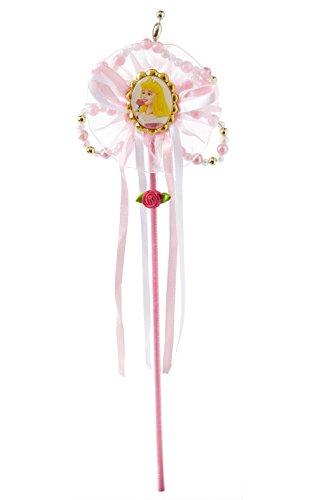 Princesas Disney - Varita de Bella Durmiente, color rosa, Talla única (Rubie's 8464)