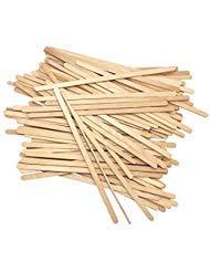 Disposable Birchwood Tea Wood Coffee Stir Sticks Wooden Stirrers 190mm (No Wrapped 100 Pcs)