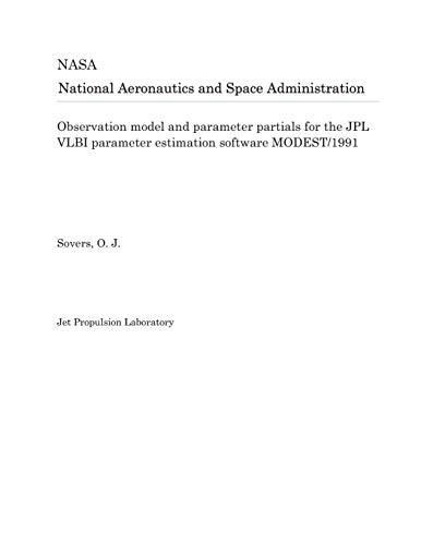 Observation model and parameter partials for the JPL VLBI parameter estimation software MODEST/1991