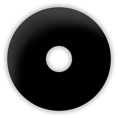Funlinsen Black Sclera-Markenqualität- 1 PAAR-D-22mm-schwarze Linsen,Cosplay, Larp, Zombie Kontaktlinsen, Crazy Funlinsen, Halloween, Fastnacht,Vampir - 3