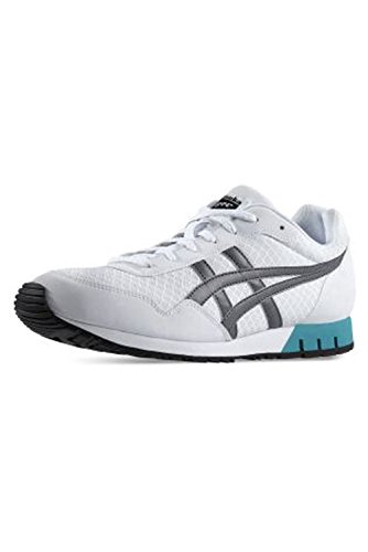 Asics Curreo - Zapatillas deportivas para hombre, Blanco (White / Grey 111), 44