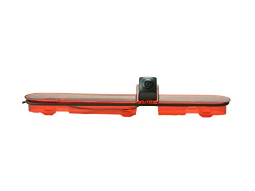 YMPA Rückfahrkamera Transporter kompatibel mit Peugeot Expert Citroen Space Tourer und Toyota ProAce Baujahr Bj 2008 bis 2016 Farbe IR Nachtsicht 10 Meter Kabel NTSC Monitor Rückfahrsystem