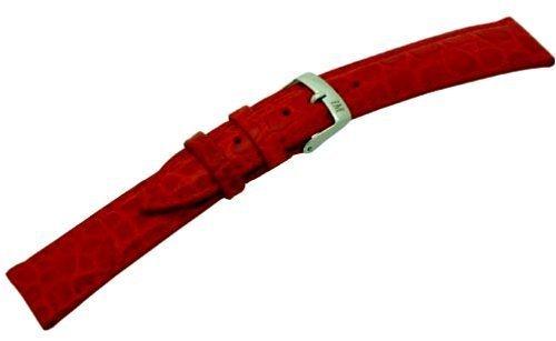 Morellato a01u0751376083cr18 liverpool cinturino in pelle donna, 18 mm, colore: rosso