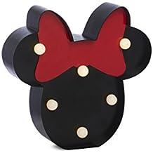 Disney Mickey Minnie Mouse Mini 6LED luces de interior