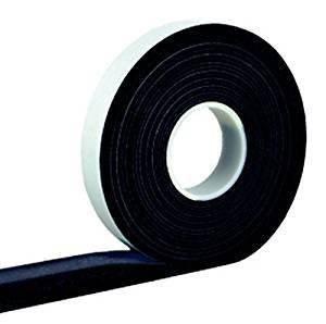 4,3 m Komprimierband 40/8 anthrazit, Bandbreite 40mm, expandiert von 8 auf 40 mm | Kompriband | Fugendichtband | Komprimiert | Quellband