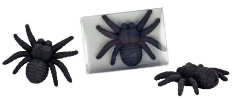 Radiergummi Collection Spinne 6,5x4,5x1,7cm, Verpackungseinheit: 24 Stück