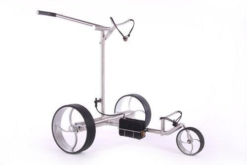 Elektro Golftrolley eco one Edelstahl