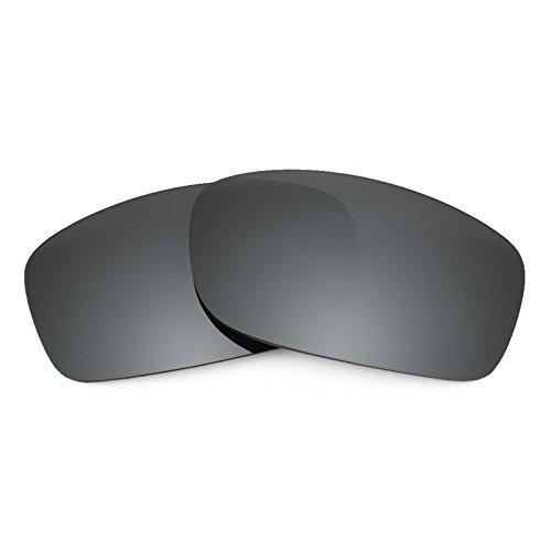 Revant Verres de rechange polarisés Noir Chrome pour Oakley Fives 3.0 905f459bcfab