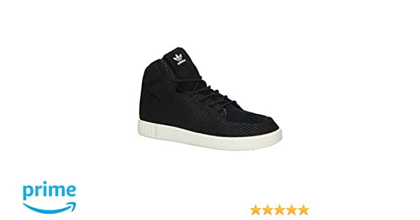 adidas Originals Men s Tubular Invader 2.0 Cblack and Owhite Leather  Sneakers - 9 UK India (43 1 3 EU)  Buy Online at Low Prices in India -  Amazon.in 8eff7ed91
