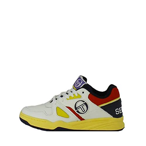 Sergio Tacchini Baskets Top Play LTHR - Ref. STM822005-WHITE-MULTI