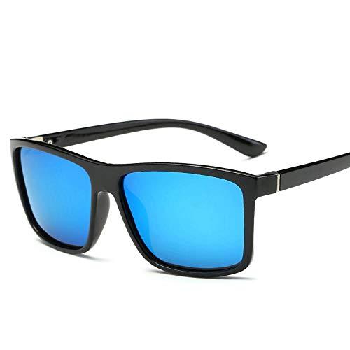 ZHOUYF Sonnenbrille Fahrerbrille Herren Polarized Sonnenbrille Herren Marke Retro Driving Sports Sonnenbrille Herren Fahrer Sicherheit Schutz Uv400 Brille, D