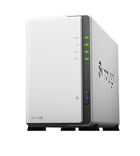 Synology DS216SE 2 Bay Desktop-Gehäuse