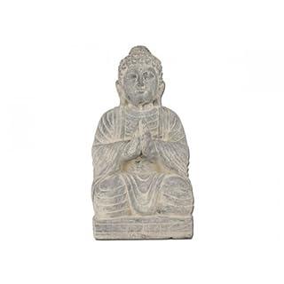 Aniba Design sitzender Buddha Abmessung ca. 26x22x49 cm ABBU001