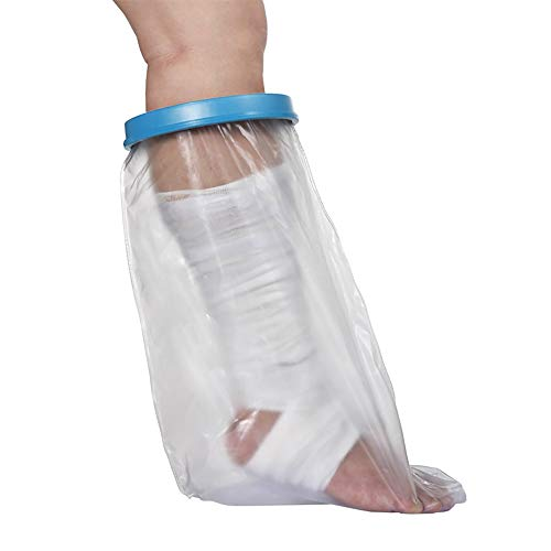 Seal Tight Bandagen (Amhuui Wasserdichtes Kalbskaubencover, Seal Tight Freedom Cast und Bandage Protector, Best Watertight Protection, Adult Leg)