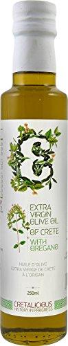 Cretalicious Olivenöl extra vergine mit Oregano, 1er Pack (1 x 250 ml)
