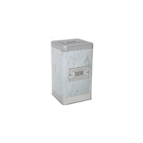 Boîte pour sucre en poudre relief - Capacité 1 kg