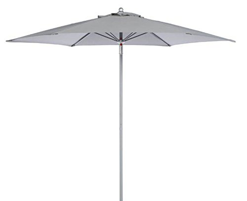 Alterego Parasols Parasol hexagonal OMBRA vert bouteille en ...
