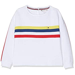 Tommy Hilfiger Retro Placed Stripe Sweater suéter para Bebés 7
