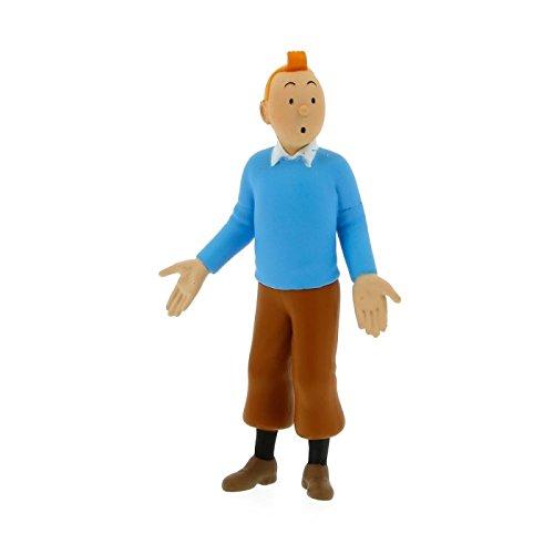 Tim und Struppi PVC-Figur Tim im blauen Pullover (Groß)