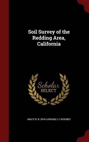 Soil Survey of the Redding Area, California