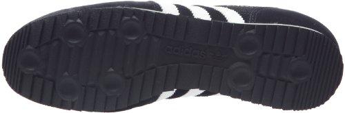 adidas Originals Dragon G50919, Scarpe da Ginnastica Uomo Nero (Black/White/Metallic Gold)