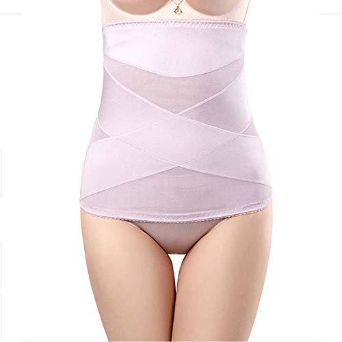 YRWQF Primavera e L'Estate Sezione Sottile No Traccia Cintura Addome Vita Sottile Cintura Traspirante Postpartum Body Shaping Cintura, XL