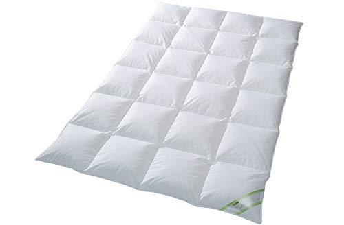 moebelfrank Kinder Daunendecke Bettdecke Baby Decke 100x135 100% Gänse-Daunen Kai