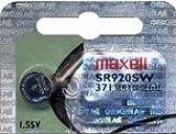 10x maxell - 371 SR920SW - 1,55 Volt 39mAh AgO
