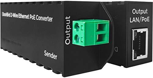 DoorBird A1071 IP-Video-Türsprechanlage 2-Drahtübertrager Schwarz