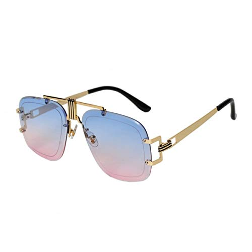 Clothes Distribution - Lucy Polarized Sonnenbrille für Damen UV400 (Blue-Pink)