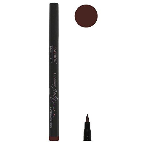 Feutre Semi Permanent Lip Liner - Couleur Cacao - Effet Tatouage Contour des Levres Maquillage