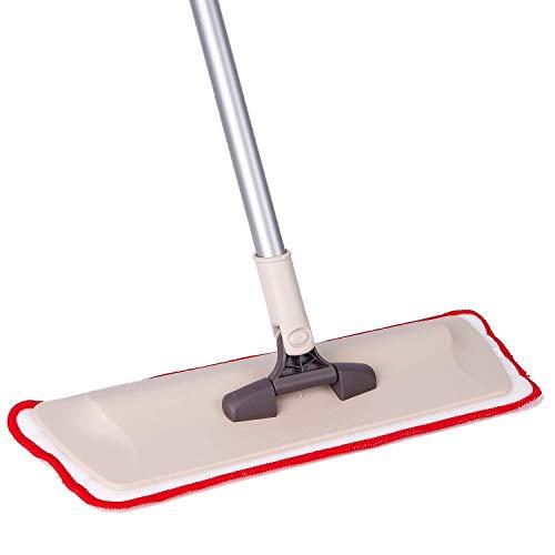 Trapeador plano microfibra piso - Almohadillas lavables