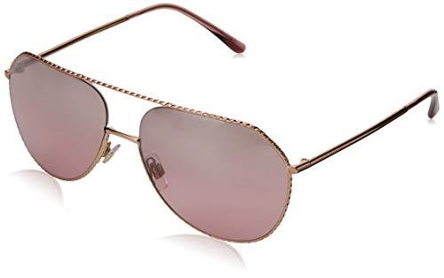 Dolce & Gabbana Damen 0DG2191 12987E 59 Sonnenbrille, Pink Gold/Pinkmirrorsilvergradient