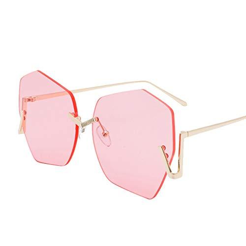 fazry Vintage Sonnenbrille Unisex Retro Eyewear Fashion Strahlenschutz Gr. Einheitsgröße, B