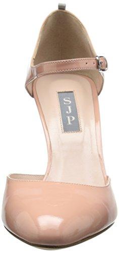 SJP by Sarah Jessica Parker Damen Campbell Riemchenpumps Pink (Bare Patent)