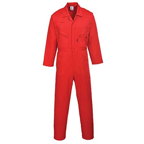 Portwest C813/Mädchen Schutzanzug/Post, rot, Größe M (Uniform Sicherheits-roter)