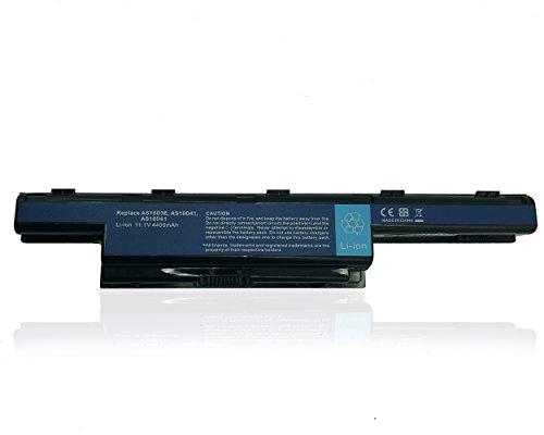Ersetzt Laptop Akku AS10D3E AS10D31 AS10D41 AS10D61 AS10D71 AS10D81 für Acer Aspire 4250G 4350G 5741G / TravelMate/ Emachines/ Packard Bell Series [11.1V 4400mAh]