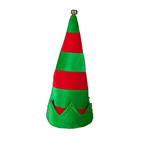 Elf Hat with Bells for Christmas Fancy dress Accessory