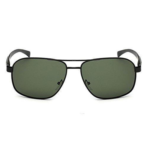 Junecat Polarisierten UV400 Doppel-Brücke UnisexEyewear Sonnenbrillen