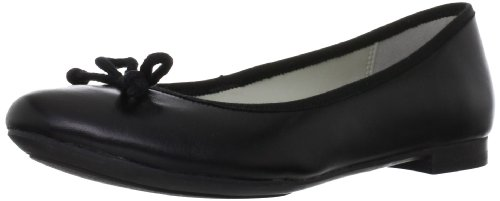 Clarks Carousel Ride, Ballerine donna, Nero (Black Leather), 39.5